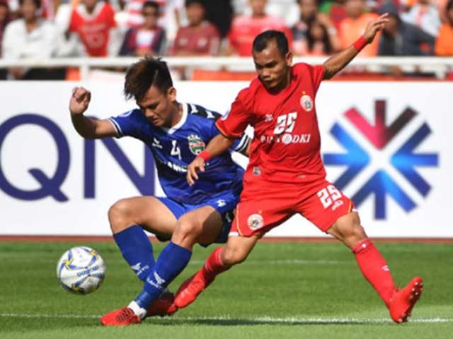 AFC Cup, PSM - Bình Dương: Bước ngoặt các cú đánh đầu, thót tim cuối hiệp 2