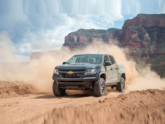 Xe bán tải Chevrolet Colorado và GMC Canyon sẽ sử dụng khung gầm mới ở thế hệ kế tiếp