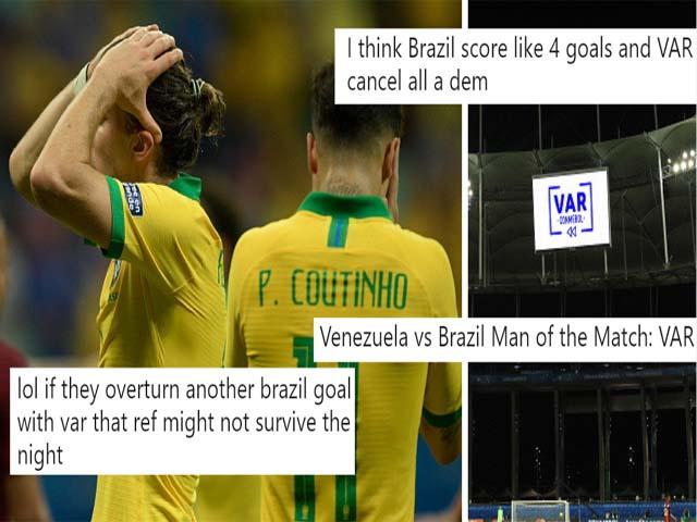 """Nghiệt ngã Brazil ở Copa America: Lần thứ 3 ôm hận vì VAR, bẻ cỏi """"kinh điển"""""""