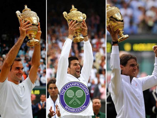 Lịch thi đấu tennis Wimbledon 2019 - đơn nam