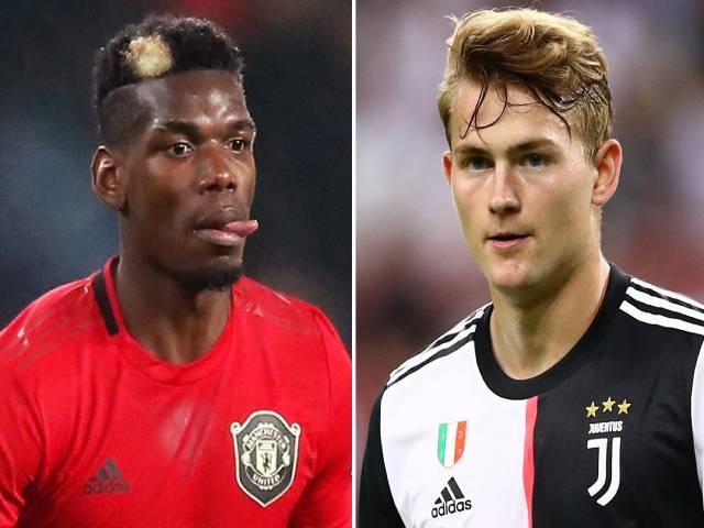 """MU để Pogba ra đi, đòi Juventus đổi De Ligt: """"Bom tấn"""" dễ nổ mùa covid-19"""