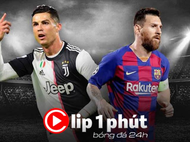 """Rủ Ronaldo - Messi """"nổi loạn"""", nguyên nhân vì đâu? (Clip 1 phút Bóng đá 24H)"""