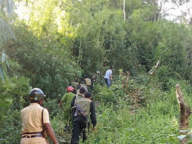 Bắt nghi phạm bị truy nã toàn quốc sau 2 tháng trốn trong rừng