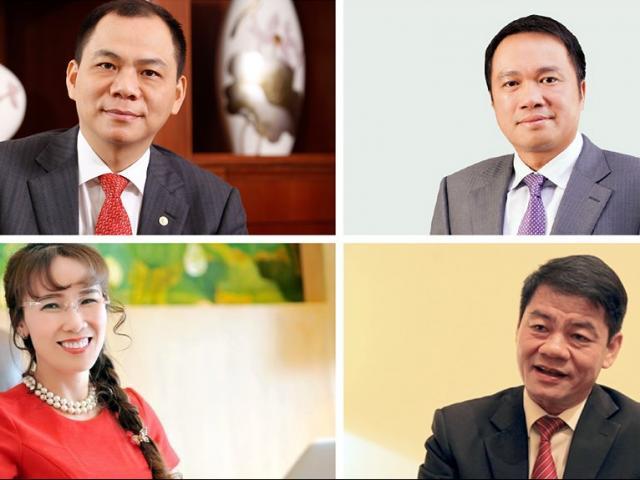 Sau sự xáo trộn lớn, 4 tỷ phú USD Việt Nam năm 2020 gồm những ai?