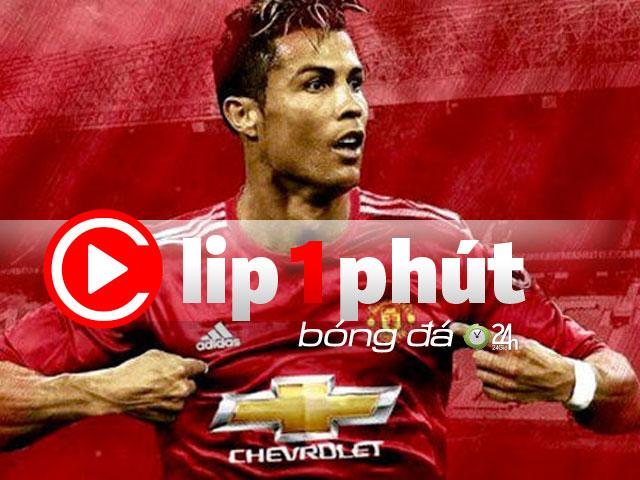 """Real chặn cửa, Ronaldo dễ trở về """"Quỷ đỏ"""" MU? (Clip 1 phút Bóng đá 24H)"""