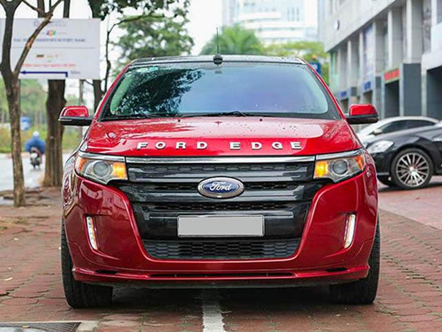 Chi tiết xế Mỹ hàng độc Ford Edge Sport có mặt tại Việt Nam