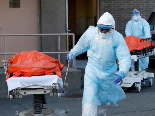 Mỹ: Gần 1.800 ca tử vong vì Covid-19 trong ngày, tổng số gần bằng Italia