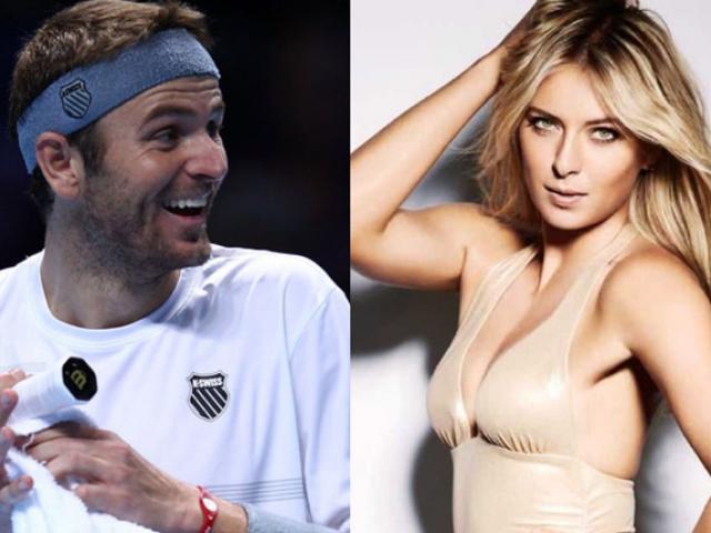 Người đẹp Sharapova bị từ chối khi trêu đùa tay vợt đã có vợ