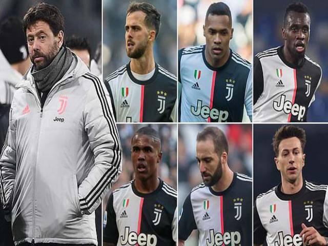"""""""Ông trùm"""" Juventus trẻ hóa, Ronaldo & 9 SAO tim đập chân run"""