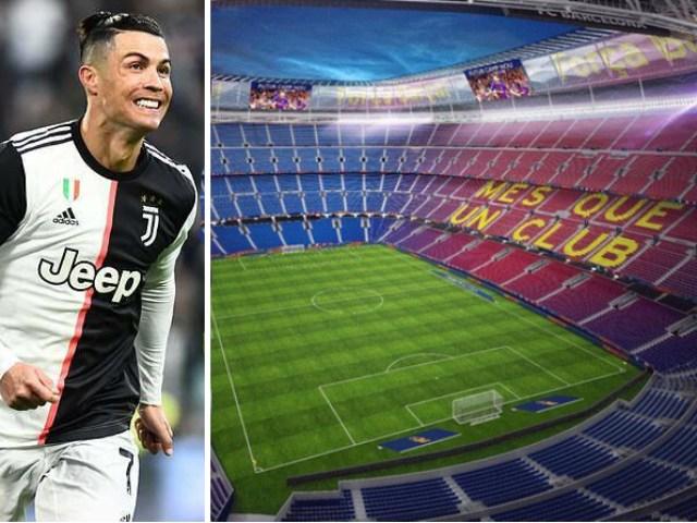 """Chuyện không tưởng: Ronaldo được """"dụ"""" mua tên sân Nou Camp và đặt tên CR7"""