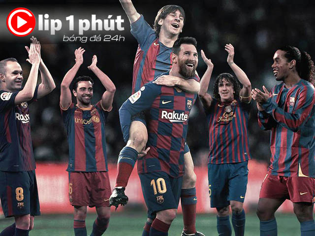 """Messi và khoảnh khắc """"thần thánh"""": 15 năm 1 huyền thoại (Clip 1 phút Bóng đá 24H)"""