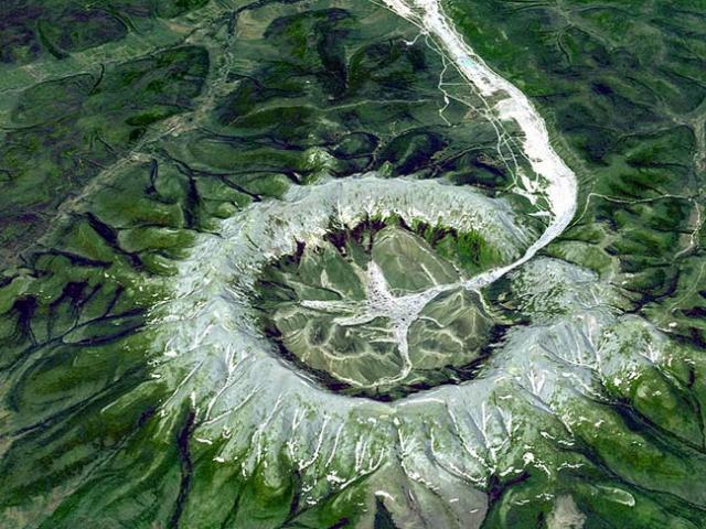 Vòng tròn bí ẩn ở Siberia chứa nhiều kim loại quý