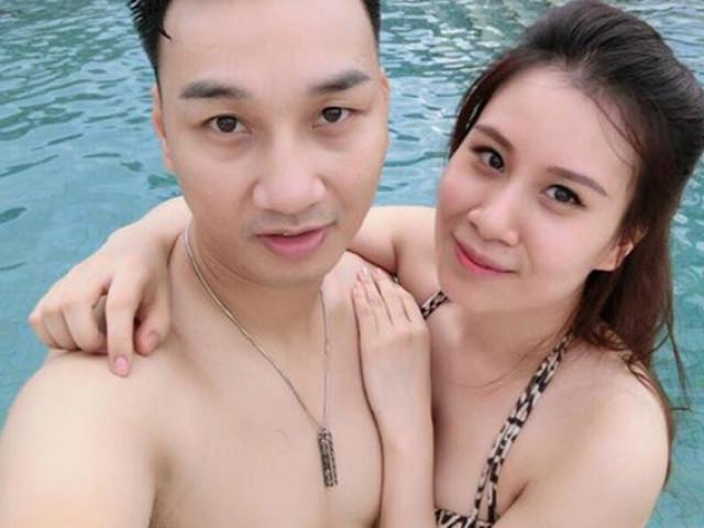 Cựu tiếp viên - Vợ MC Thành Trung đẹp thần tốc nhờ cho con bú