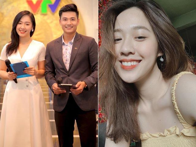 Nữ MC mới toanh của VTV khiến dân tình xôn xao vì nhan sắc xinh như mộng