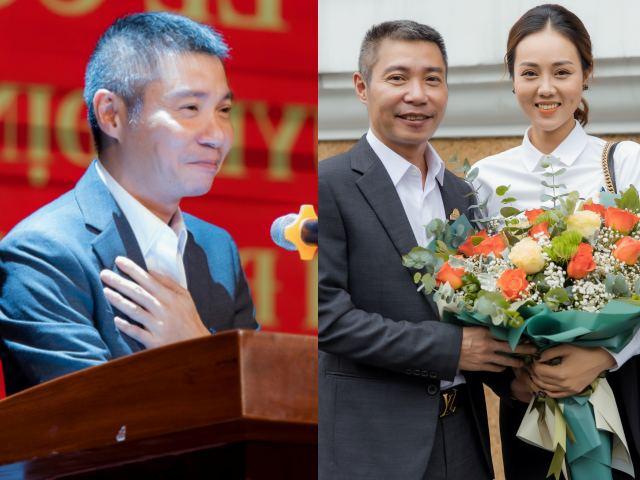 """Công Lý lên """"sếp"""" ở Nhà hát kịch Hà Nội, bạn gái kém 15 tuổi nói điều bất ngờ"""