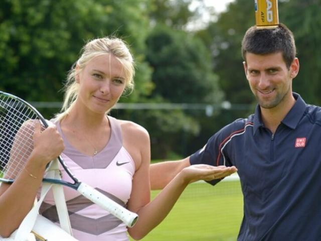 Maria Sharapova tiết lộ buổi hẹn hò khó ngờ với Djokovic