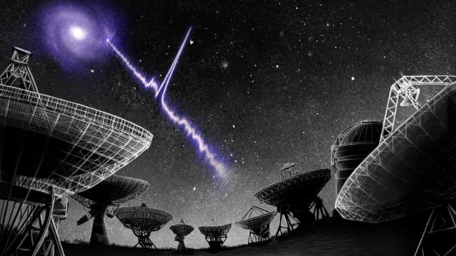 """Bí ẩn sóng vô tuyến vật thể """"ma"""" truyền tới trái đất"""