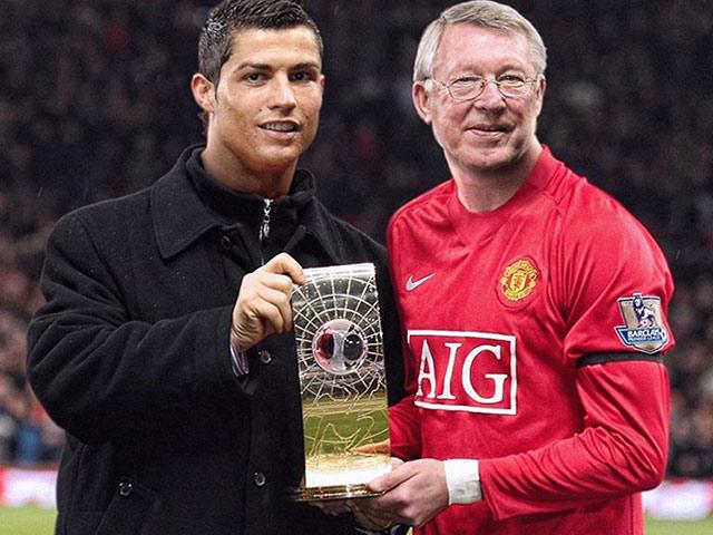 Ảnh chế hài hước Ronaldo và các siêu sao trở thành HLV của thầy mình
