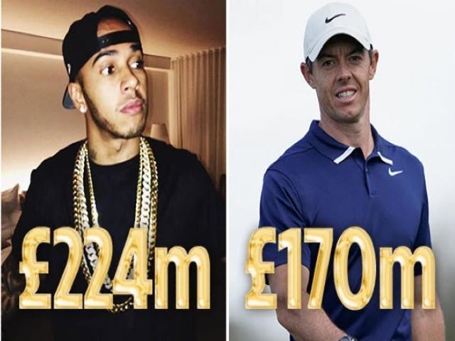 """Siêu sao thể thao giàu nhất Vương quốc Anh: Ai hơn được """"ông vua"""" F1?"""