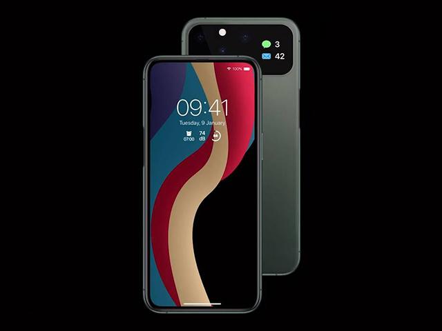 Không thể rời mắt khỏi thiết kế iPhone 12 tuyệt đẹp này