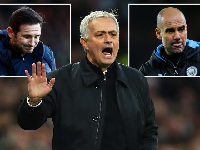 Mourinho ngầm chỉ trích Pep, Lampard vì sợ Ngoại hạng Anh sớm trở lại