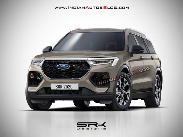 Ford Everest thế hệ mới lột xác về thiết kế, nhiều đường nét giống Explorer