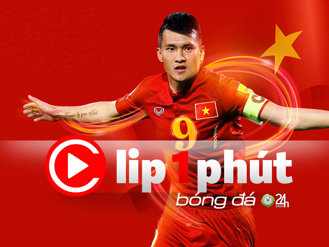 Not Van Hau, who is the Vietnamese player to shine when abroad? (1 minute Clip 24H Football)