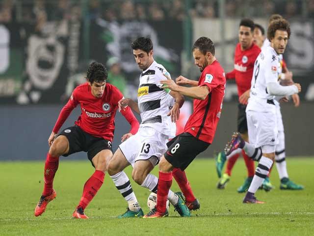 Trực tiếp bóng đá E. Frankfurt - M'Gladbach: Nỗ lực vì vé Champions League