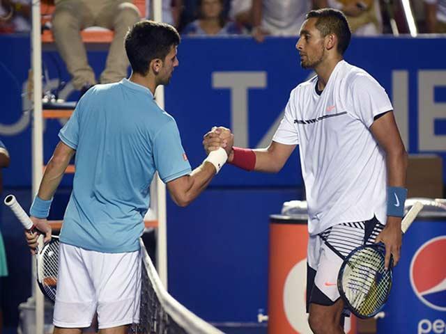 """""""Trai hư"""" Kyrgios uống rượu, nói xấu Djokovic trước mặt Andy Murray"""