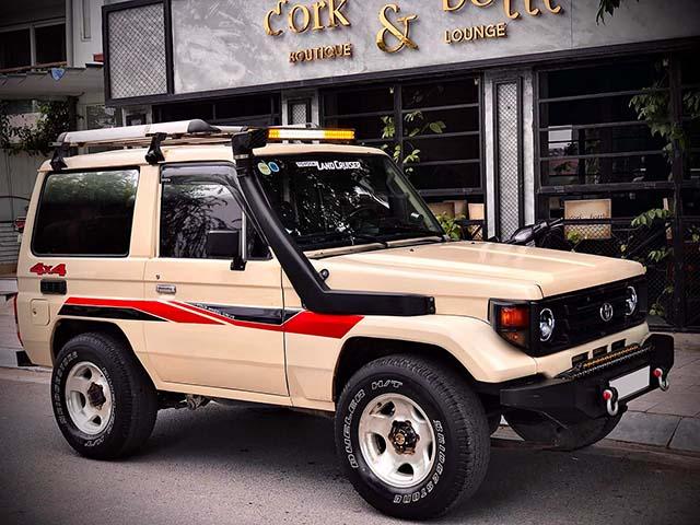 Xe SUV Land cộc BJ70 hàng hiếm rao bán với giá 350 triệu đồng