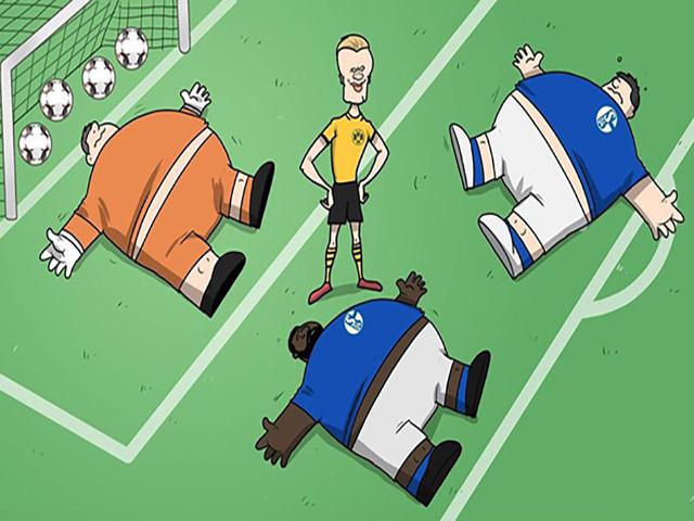 """Ảnh chế: Dortmund """"hủy diệt"""" đối thủ trong ngày bóng đá trở lại sau dịch"""