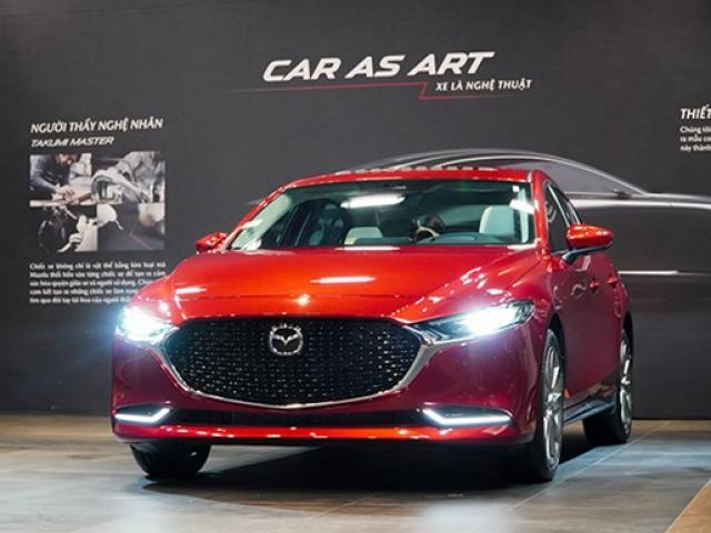 Giá xe Mazda 3 2020 lăn bánh mới nhất tất cả các phiên bản T05/2020