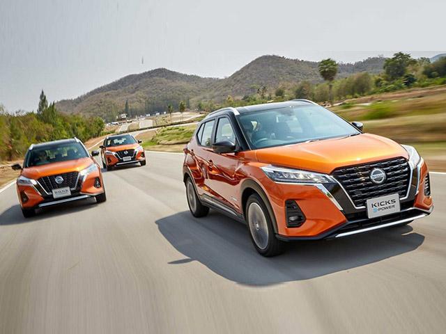Nissan Kicks 2021 ra mắt, ô tô điện tự sạc pin nhưng cần nạp nhiên liệu