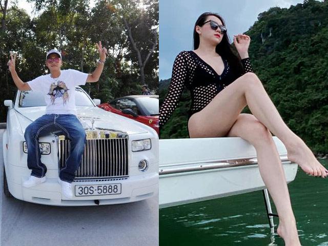 Siêu mẫu lấy thiếu gia trong đoàn siêu xe 330 tỷ cùng Cường ĐôLa giàu có cỡ nào?