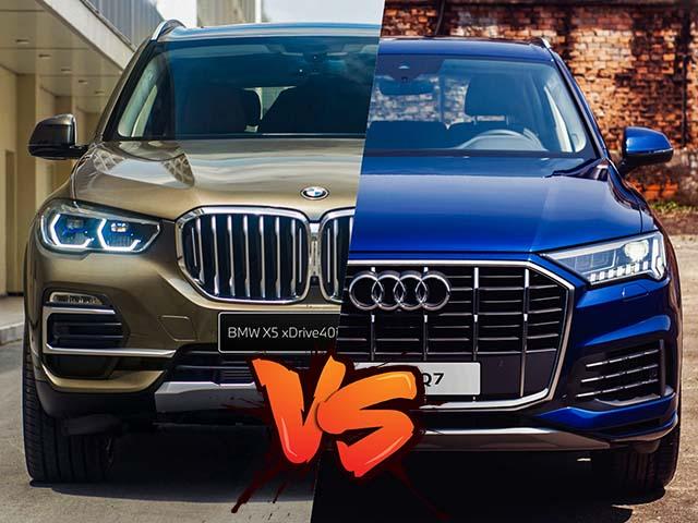 So sánh hai mẫu xe BMW X5 và Audi Q7, bất phân thắng bại trong phân khúc SUV sang