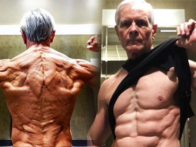 Lực sĩ thể hình làm giật mình nhiều fan: 70 tuổi cơ bụng 6 múi tuyệt đỉnh