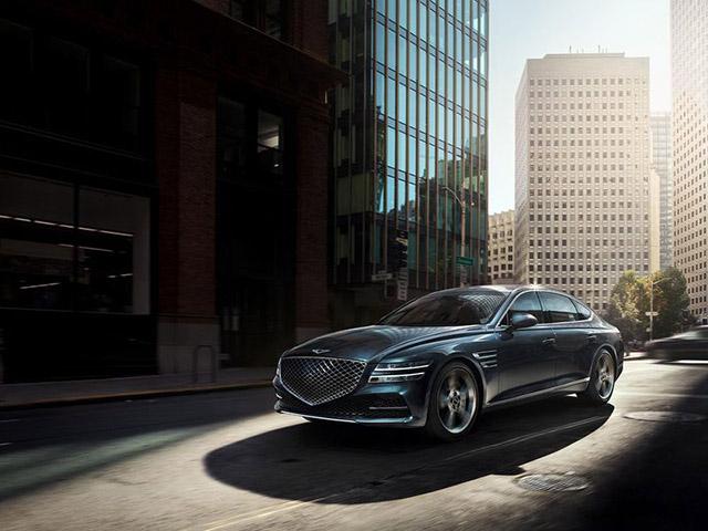 Genesis G80 2021 có giá khởi điểm rẻ hơn Mercedes-Benz E-Class