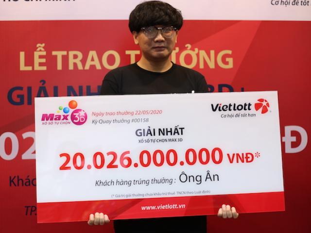 Chàng trai 9X tiết lộ lý do mua 2 vé Vietlott cùng 1 dãy số, trúng 20 tỉ