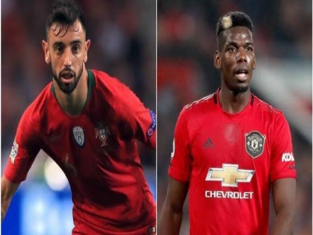 Pogba – Bruno Fernandes & hàng tiền vệ cực khủng của MU