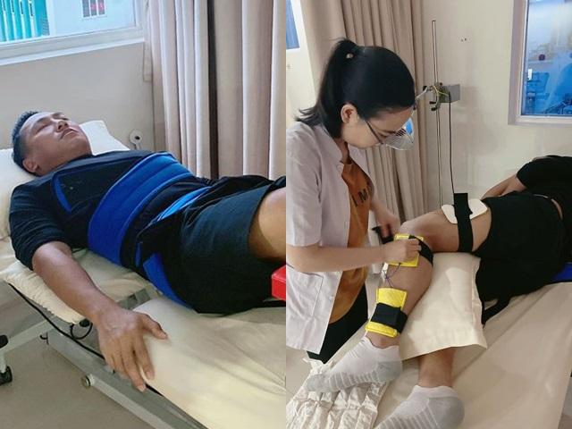 Châu Khải Phong bất ngờ nhập viện do bị chấn thương nặng, hiện không thể đi lại