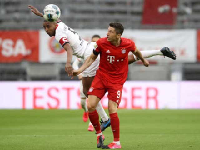 Trực tiếp bóng đá Bayern Munich - Frankfurt: Cột dọc giải cứu Neuer (Hết giờ)