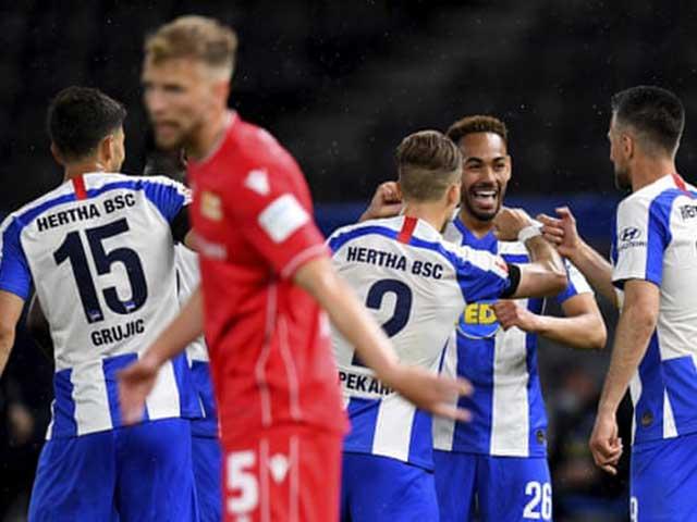 Video highlight trận Hertha Berlin - Union Berlin: 3 bàn trong 10 phút định đoạt derby