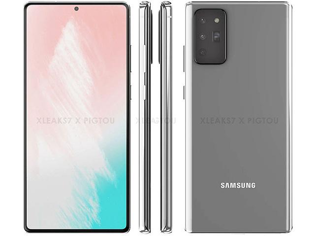 Galaxy Note20+ có màn hình lớn bất ngờ?