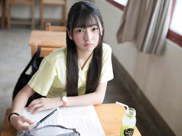 Cô gái được mệnh danh là học sinh trung học xinh đẹp nhất Đài Loan