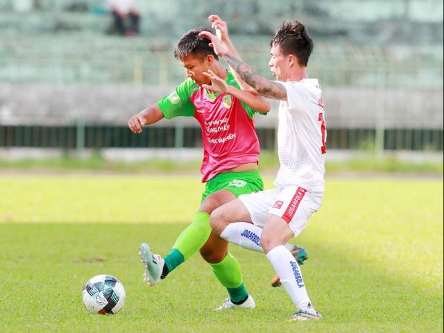 Video highlight trận Đồng Tháp - Hải Phòng: 4 bàn ngỡ ngàng, hẹn đấu Hà Nội