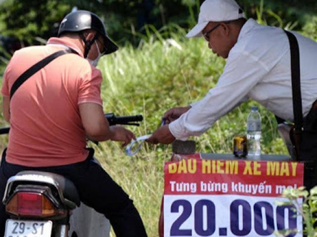 Bảo hiểm xe máy bắt buộc: Thu gần nghìn tỷ, chi trả không bằng số lẻ
