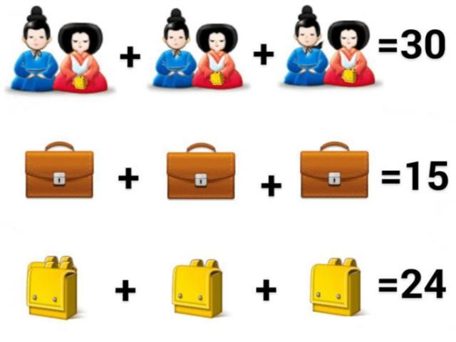 Thử tài giải toán bằng câu đố búp bê Nhật Bản