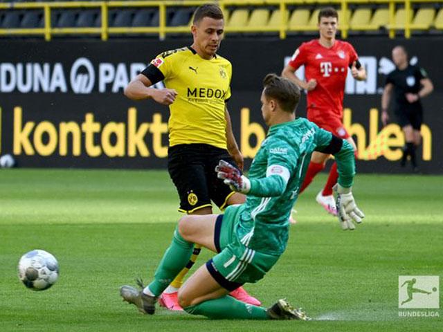 Trực tiếp bóng đá Dortmund - Bayern Munich: Nỗ lực không thành (Hết giờ)