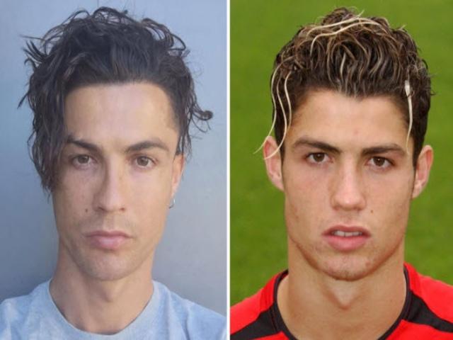 """Ronaldo khoe tóc bồng bềnh lạ mắt, fan MU """"phát cuồng"""" nhớ thời vàng son"""