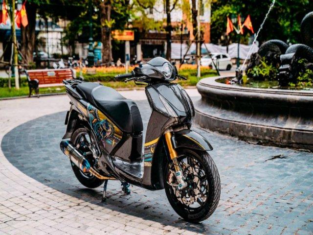 Choáng ngợp Honda SH 150i độ 700 triệu đồng của biker Hà Thành